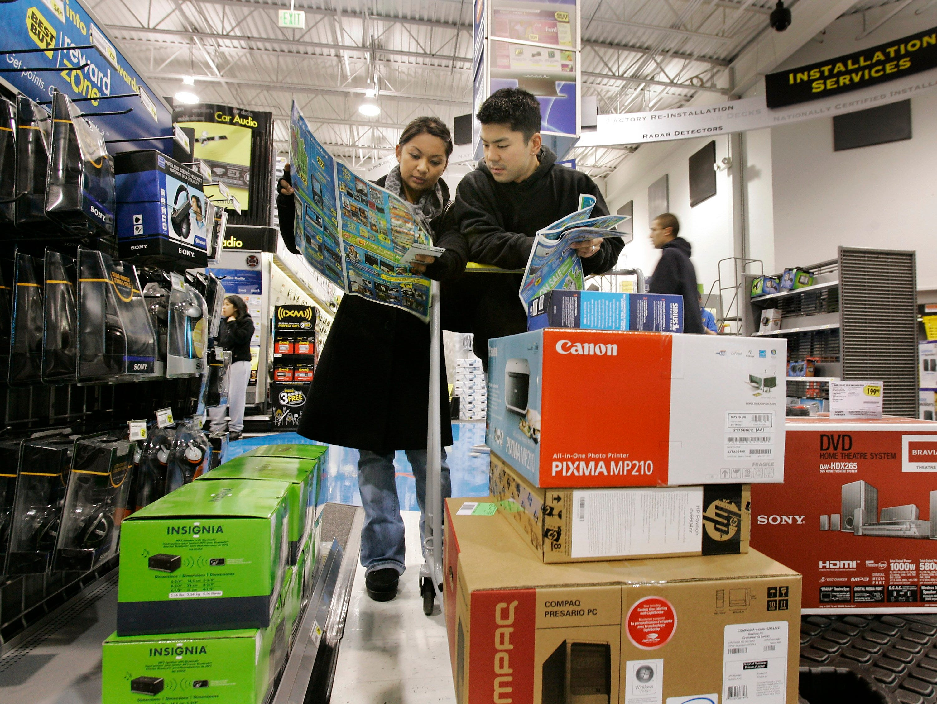 Tech gadgets and electronics are popular gifts during the holidays.