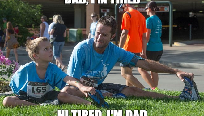 A dad joke
