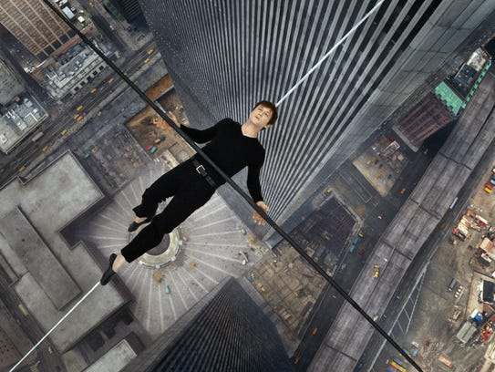 "Joseph Gordon-Levitt in a scene from, ""The Walk."" The"