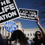 Good luck explaining your abortion vote high-fives to your constituents, senators