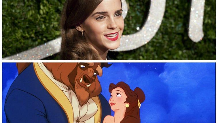 Emma Watson and Belle.
