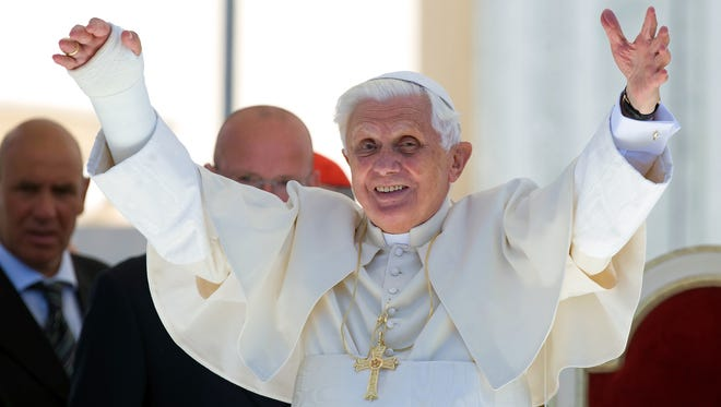 No one's immune from little accidents. Pope Benedict XVI slipped in the bathroom and broke his wrist while on vacation in July 2009.