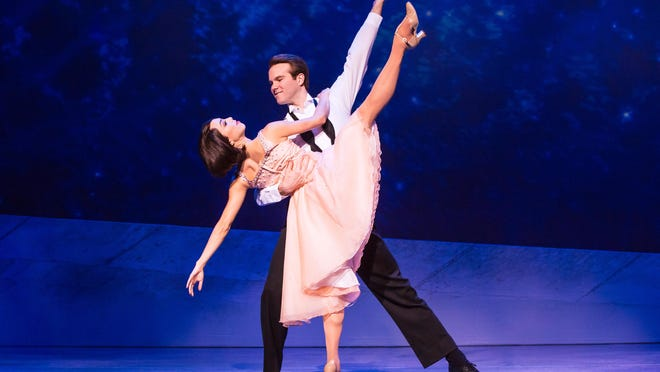 """Allison Walsh and McGee Maddox in """"An American in Paris,""""  which opened at Wharton on Tuesday, Nov. 14. Two shows on Saturday, Nov. 18, conflict with a football game."""