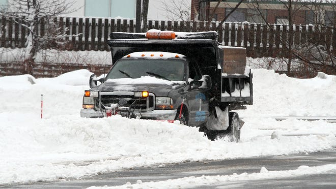 Snowfall, sleet and freezing rain brought a mess of wintry weather to the Shore area early this morning, leaving some spots more snow covered than others.