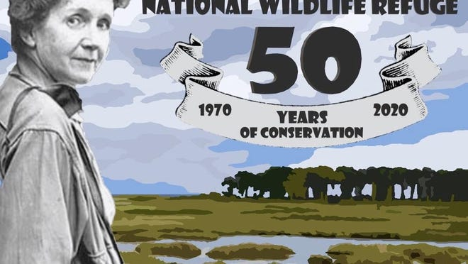 The Rachel Carson National Wildlife Refuge was renamed for the world-renowned marine biologist, author, environmentalist and former U.S. Fish and Wildlife Service employee, Rachel Carson, on June 27, 1970.