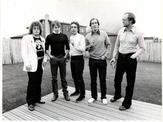 The Mutants (left to right); Steve Sortor, Tom Morwatts,
