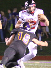 Fort Osage quarterback Ty Baker committed to Missouri State before his senior year of high school.