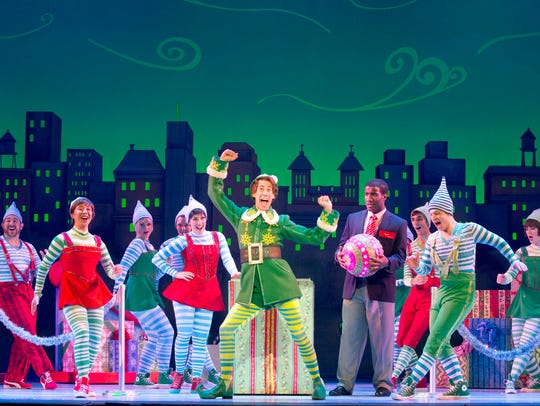 "The Broadway musical ""Elf"" kicks off the holiday season"