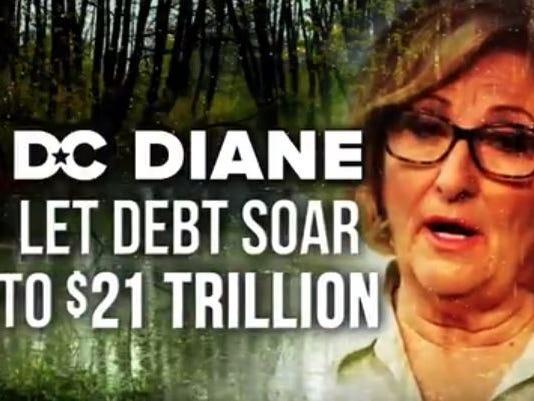 DC Diane attack ad