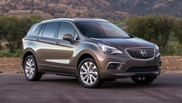Chinese-made Buick Envision makes Detroit debut