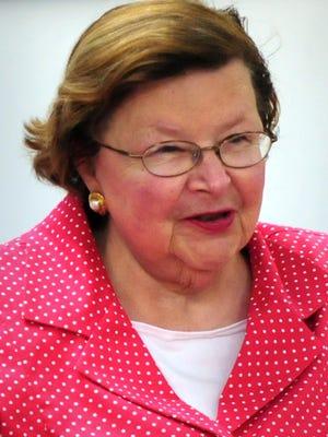Sen. Barbara Mikulski
