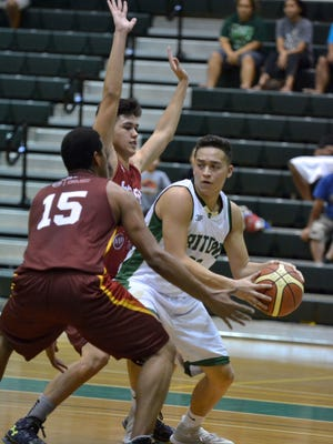 The University of Guam dropped a heart-breaker to the Phoenix Sons, 75-73, in the Guam Basketball Association League at the UOG Calvo Field House on Sunday.