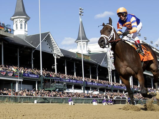 Churchill Downs will be packed with more than 150,000 fans for Saturday's Kentucky Derby.