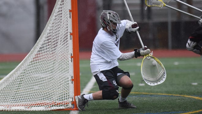 Don Bosco goalie Steve Rann makes a save in a game between No. 4 Northern Highlands and No. 5 Don Bosco.