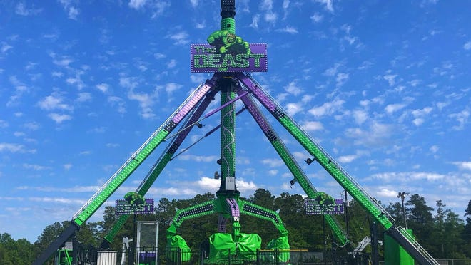 Reithoffer Shows is bringing its newest ride, The Beast, for the Aiken Fall Fest set for Oct. 2-11 at the Aiken County Fairgrounds.