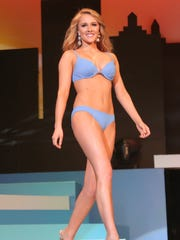 Camryn Main won the swimsuit competition during second night of the 2018 Miss Ohio contest took place on Friday at the Renaissance Theatre.