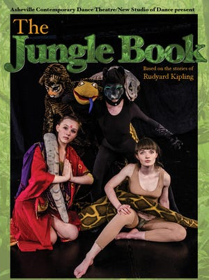 "A dance-theater adaptation of ""The Jungle Book"" at the BeBe Theatre runs from May 20-29."