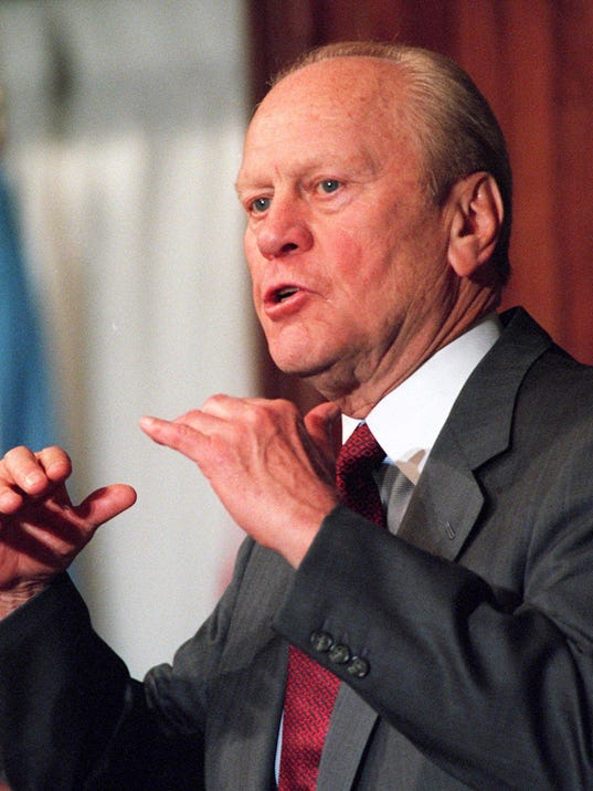 Events Mark Gerald Ford S 102nd Birthday