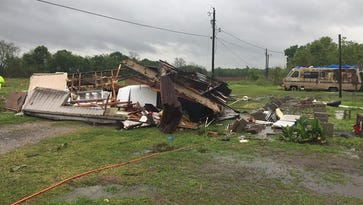 Governor gets firsthand look at tornado tragedy