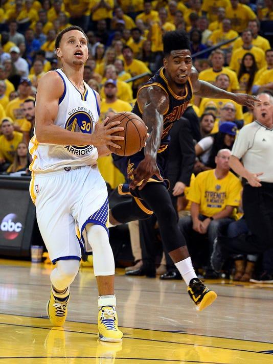 USP NBA: PLAYOFFS-CLEVELAND CAVALIERS AT GOLDEN ST S BKN USA CA