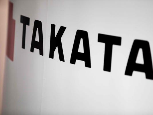 JAPAN-STOCKS-TAKATA-BANKRUPTCY