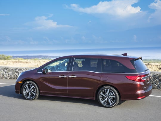 Honda's Odyssey is an SUV nominee; its Accord and hydrogen-powered Clarity made the shortlist for top car honors.