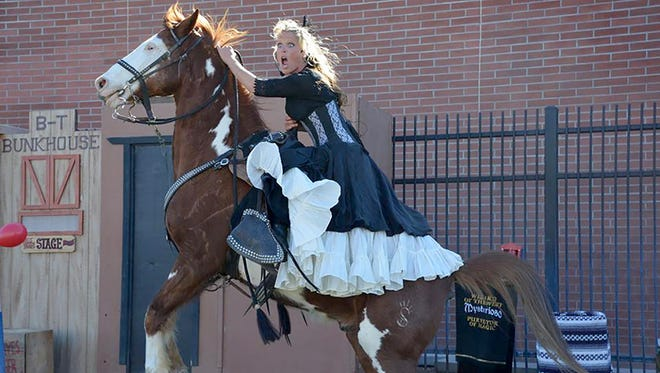 Buckeye Days is a weekend-long event featuring a rodeo, wild west entertainment, a cattle drive and a parade.