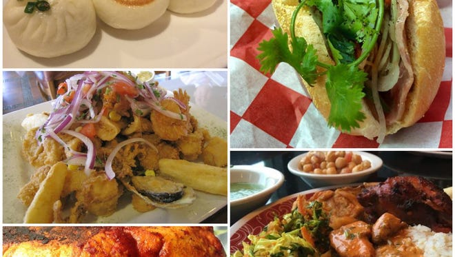The cuisines of seven countries are served at the intersection of Colonial Boulevard and U.S. 41 in Fort Myers.
