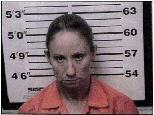 Charlene Stratton, 42, was arrested on a warrant during a multi-agency investigation into a revenge plot believed to target officers.
