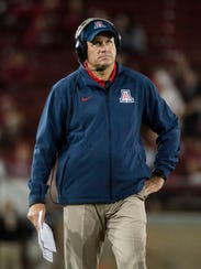 Rich Rodriguez made Arizona very competitive very fast.