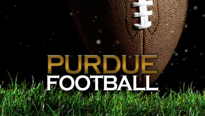 Purdue coach Darrell Hazell hold his weekly press conference