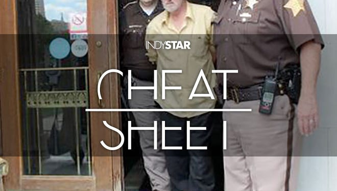Convicted child killer Richard Dobeski was arrested Thursday at the Central Library.