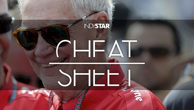 David Letterman's first IndyCar series title is within reach.