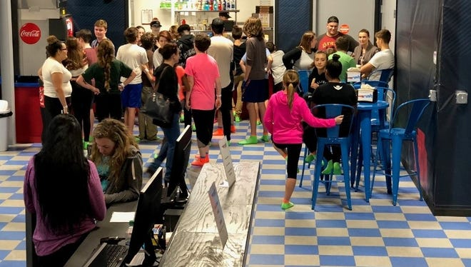 The 25,000-square-foot facility offers hours of activities for nearly all ages.