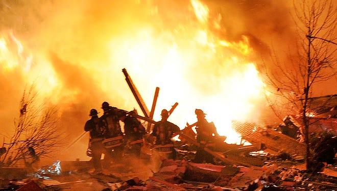 Home explosion in Richmond Hill neighborhood