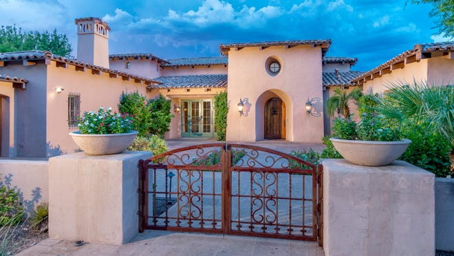 This Paradise Valley mansion owned by members of the Basha family is for sale for $3.85 million.