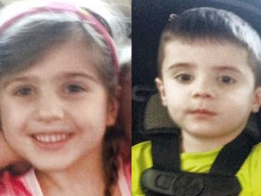 Honor Burley, 5, and Hayden Burley, 4, of Youngsville have not been seen since April 4.
