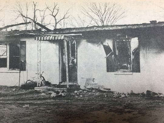 The Tony Stewart home was destroyed by a fire in January 1981. No one was home during the time of the fire, but by the time the fire department was alerted, the fire was already through the ceiling of the home. Members of the Sturgis and Henshaw fire departments fought the blaze for two and a half hours in sub-freezing temperatures.