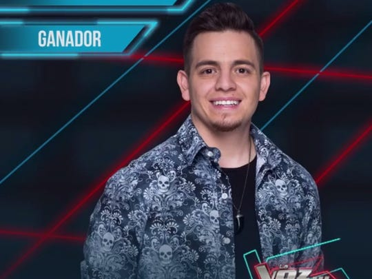 "El Pasoan Ryan Gonzalez was one of eight finalists in this year's season of ""La Voz Mexico,"" the Mexican version of ""The Voice."""