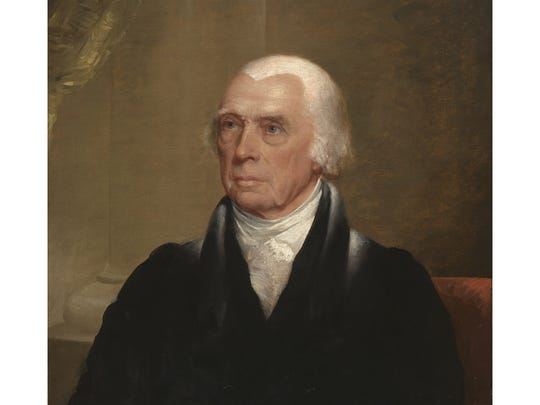 """James Madison, America's fourth president, is considered the """"Father of the Constitution."""" He was also a slave owner."""