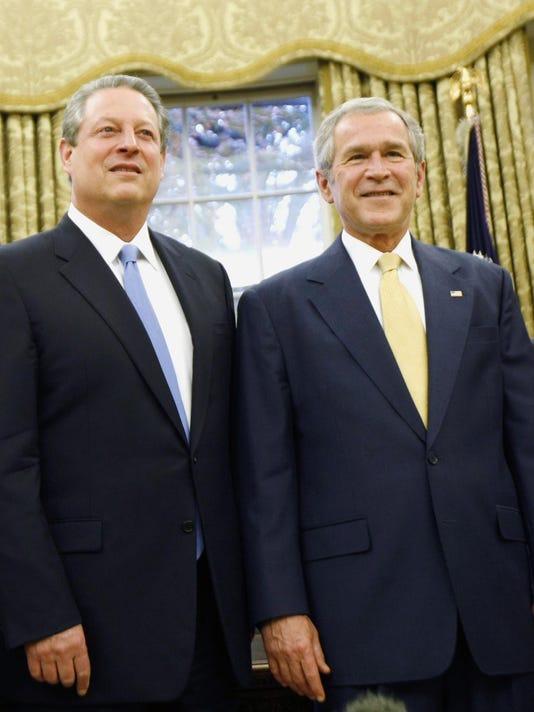 George W. Bush, Al Gore
