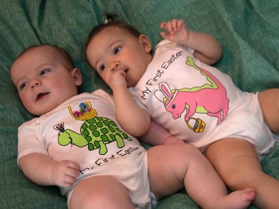 Wake up on Easter morning with these cute onesies from