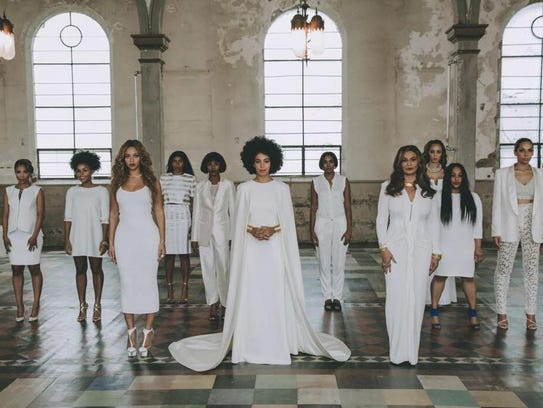Solange Knowles' bridal party