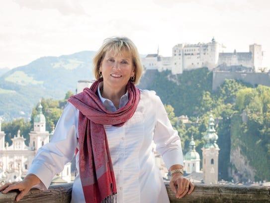 Elisabeth von Trapp returns to Salzburg, Austria, this