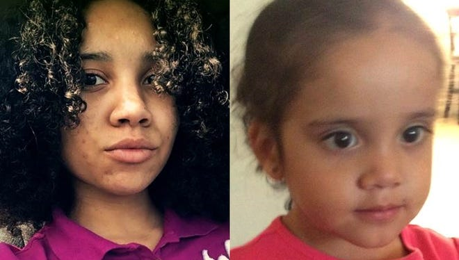 Makia Howse, 16, and her daughter, Serenity, 2, have been reported missing from Fort Pierce.