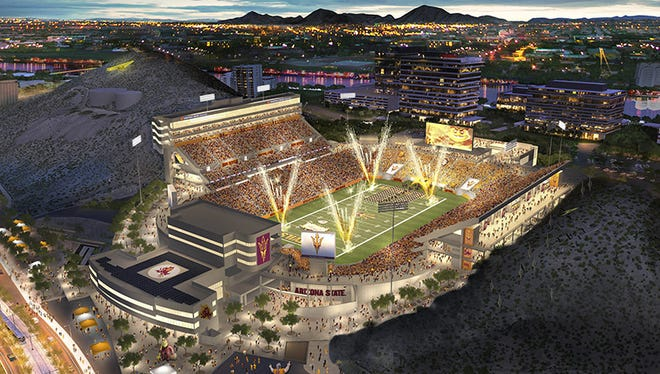 Arizona State University officials hope to use Sun Devil Stadium as a year-round facility.