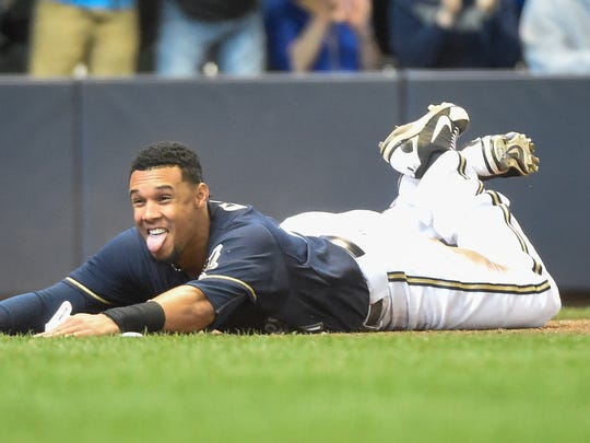 Milwaukee Brewers center fielder Carlos Gomez is an All-Star for the second time in his career. Tuesday night, he'll start in the outfield for the National League team at Minneapolis' Target Field.
