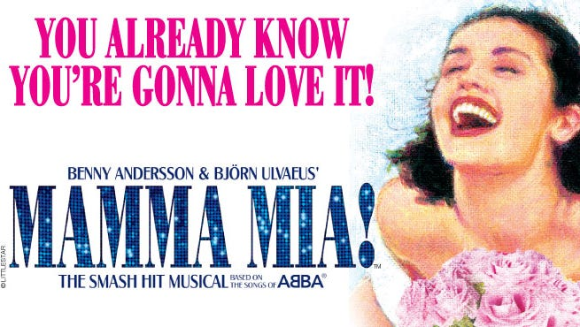 . MAMMA MIA! debuted in London where it soon became a cult classic, and it has been touring the world over for 15 years. The smash musical returns to Wharton Center this fall from October 14 – 16.