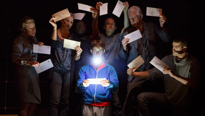 Original Broadway Company of The Curious Incident of the Dog in the Night-Time