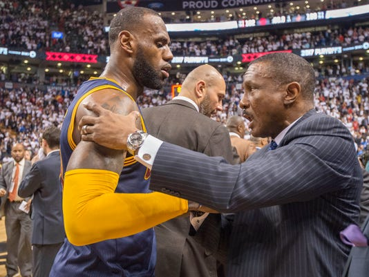 Dwane Casey, LeBron James